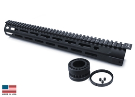 7 Sided M-LOK Rail System 15""