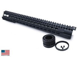 7 Sided-P Keymod Rail System 15""