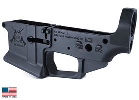 Billet Flared Mag-well KE-15 Lower (With Big Button Assembly)