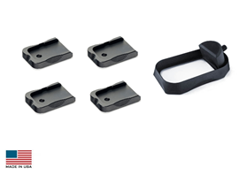 Carry Magwell with Base Pads for Glock 17/22