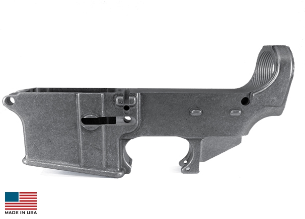 Forged 80% KE-15 Lower (Raw) - 1-50-01-007