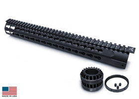 GII .308 7 Sided Keymod Rail System 15""