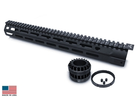 GII .308 7 Sided M-LOK Rail System 15""