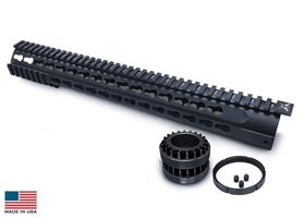 GII .308 7 Sided-P Keymod Rail System 15""