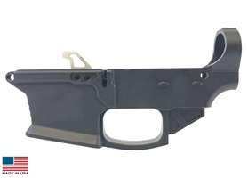 KE-9 80% 9MM Glock Mag Billet Lower