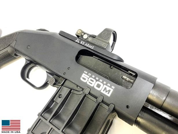 KE Arms - KE Arms Mount for Leupold Deltapoint Pro/Mossberg 590 #1
