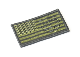 US Flag OD Green Patch