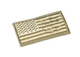 US Flag Tan Patch