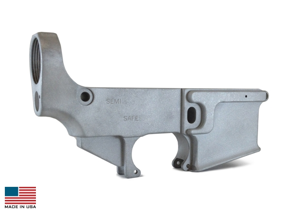 Billet 80% KE-15 Lower (Metal Finished) - 1-50-01-002